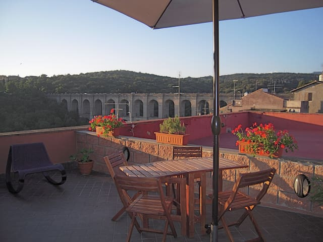 Penthouse with terrace Ariccia (RM) - Ariccia - Apartament