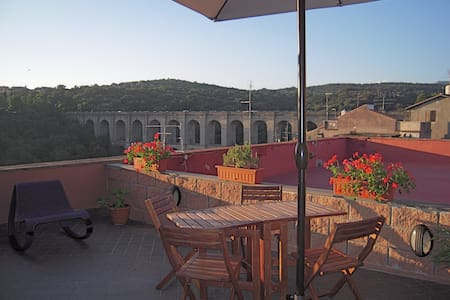 Penthouse with terrace Ariccia (RM) - Ariccia - Apartment