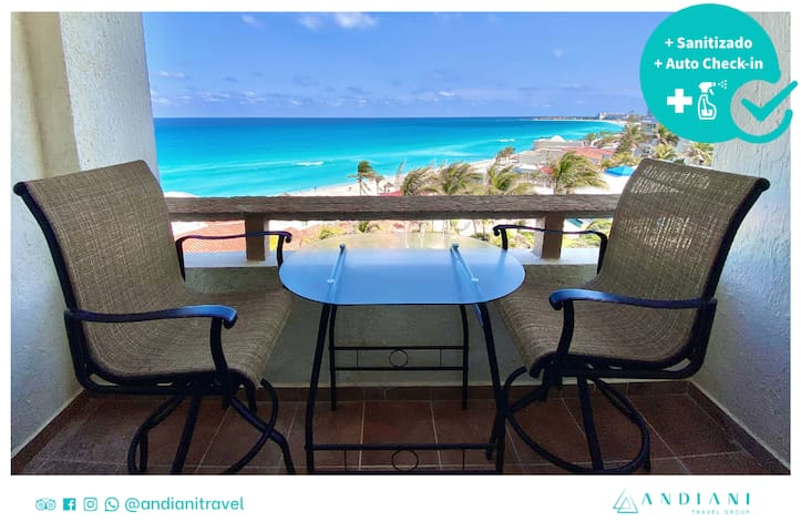✽ OCEAN VIEW ✽ Direct access to the beach!