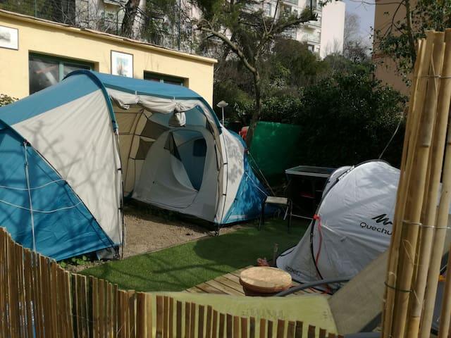 Hamac/Tent Garden, FamilyColiving Villa,Wifi, Park