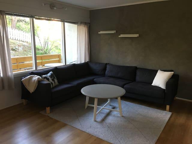 Sentral leilighet i Grimstad