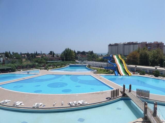 LİPARİS 7, Deniz ve Havuz manzaralı, 2+1, 100m2 - Kargıpınarı Belediyesi