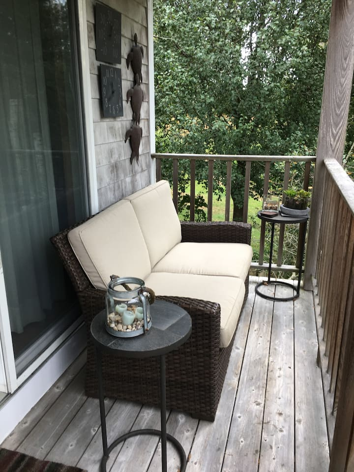 Private Deck - Set up in Spring, Summer and Fall