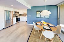 Your stylish home features chic modern decor and abundant natural light.