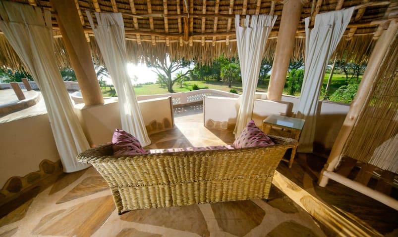 Luxury Ocean Front Couples Villa Tiwi Beach Kenya.