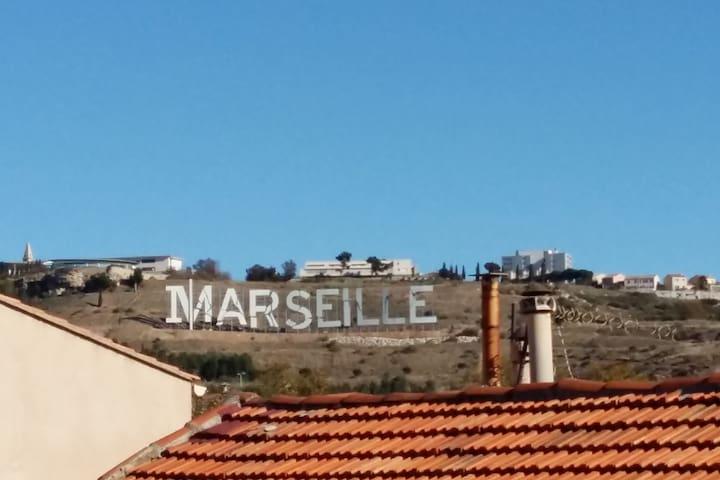 Appartement marseillais proche de la mer