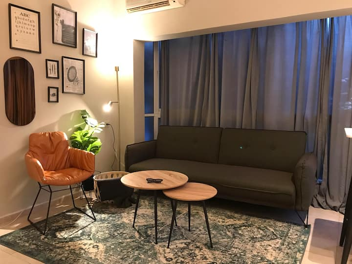 ❀ Designed 2 bedrooms apt Ben Yehuda st. ❀