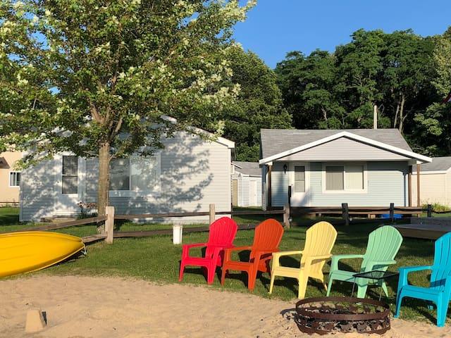 Lake front cottage on Otsego Lake, Gaylord, MI
