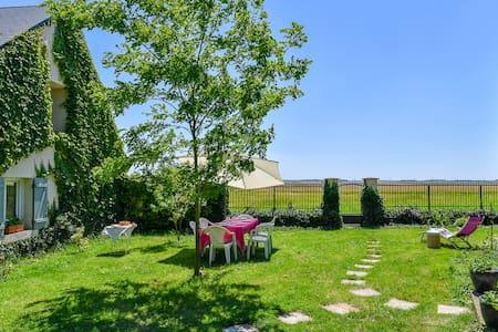 Quaint house with verdant garden - Paudy