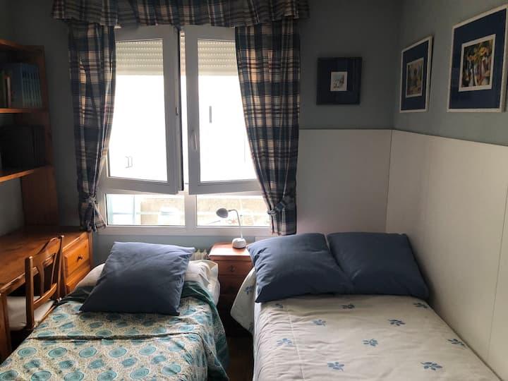 Habitación privada en casa acogedora
