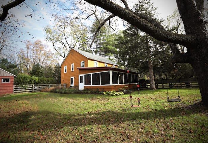Charming, Spacious Home on 12 acres - All Seasons!