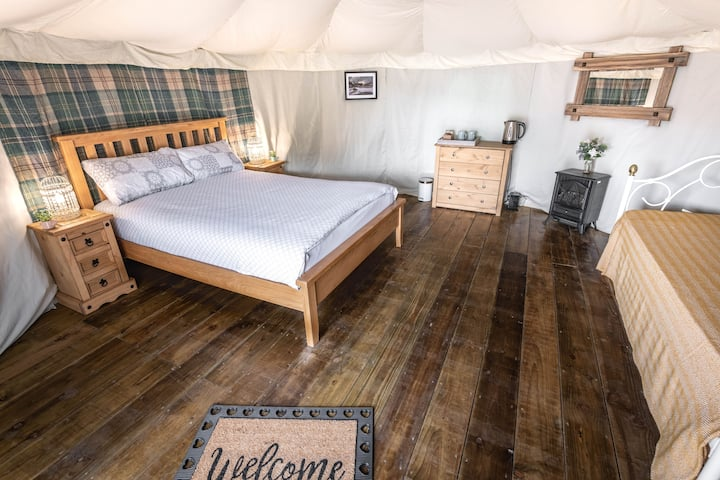 Eilio Glamping Yurt direct access to Snowdon paths