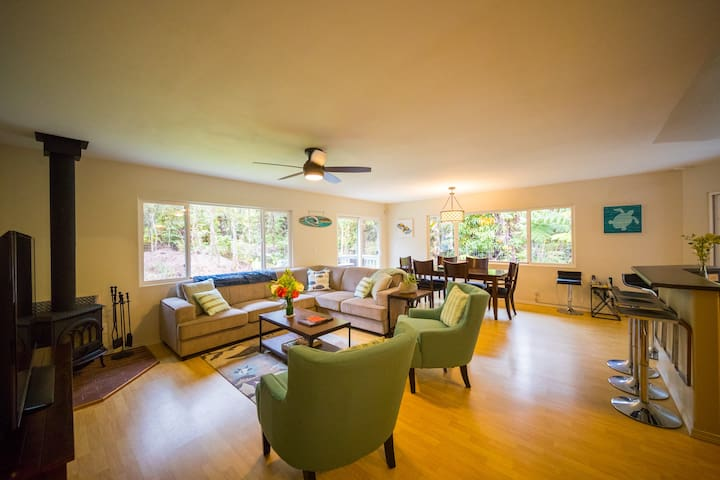 Modern, Immaculate 3 BD/2BA Rainforest Retreat - Volcano - Ev
