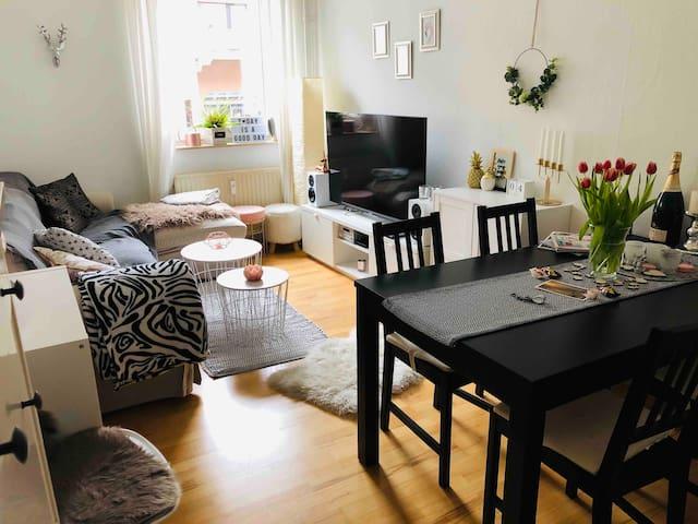 TOP Wohnung in ruhiger Innenstadtlage (5 min BHF)