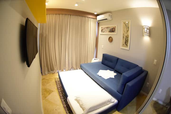 Resort Suítes - Apto Confortável VISTA MAR I