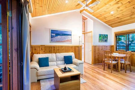 Luxury Spa Cottage in the Bush - Boat Harbour - Cabin