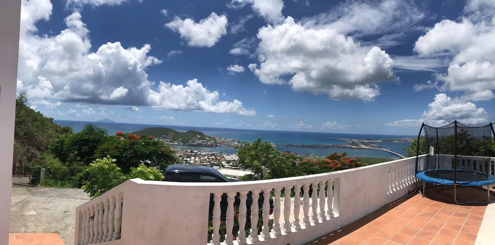 Beautiful 360 degrees view from pool deck