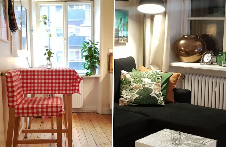 Cozy apartment in central of Södermalm/ Sofo 40sqm