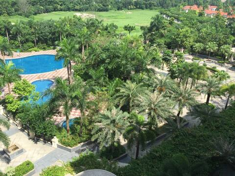 5A级风景区观澜湖高尔夫球场酒店型公寓,环境优美,新增wifi,畅享网络!