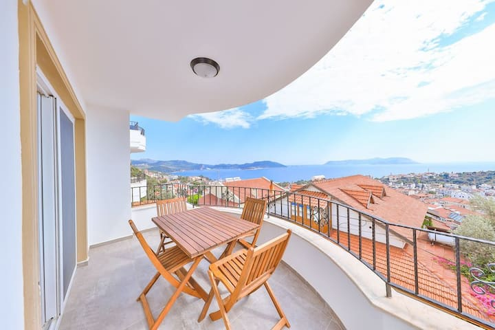 Alba Apart, Kaş town centre apartment