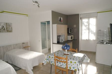 Studio(10) cure, vacancier, jardin - Dax - Huoneisto