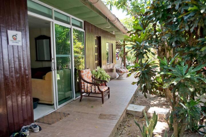 Casa Kitesurf-Double 1/AC/Pool/Garden/Breakfast