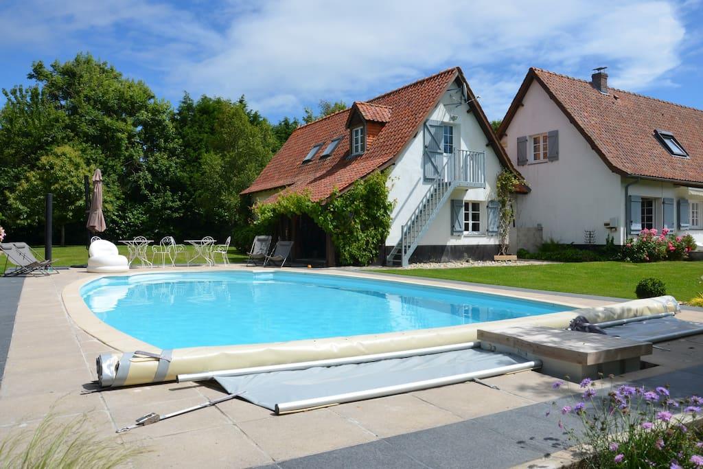 La parenth se chambre piscine chambres d 39 h tes louer - Chambre d hote avec piscine nord pas de calais ...