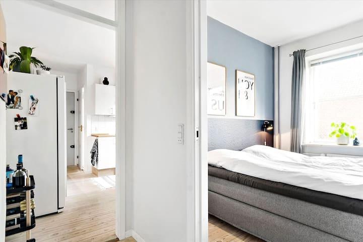 70m2 apartment central in Aarhus