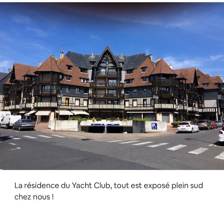 Deauville marché,2 pcs, pkg ss,10mn gare/mer pieds
