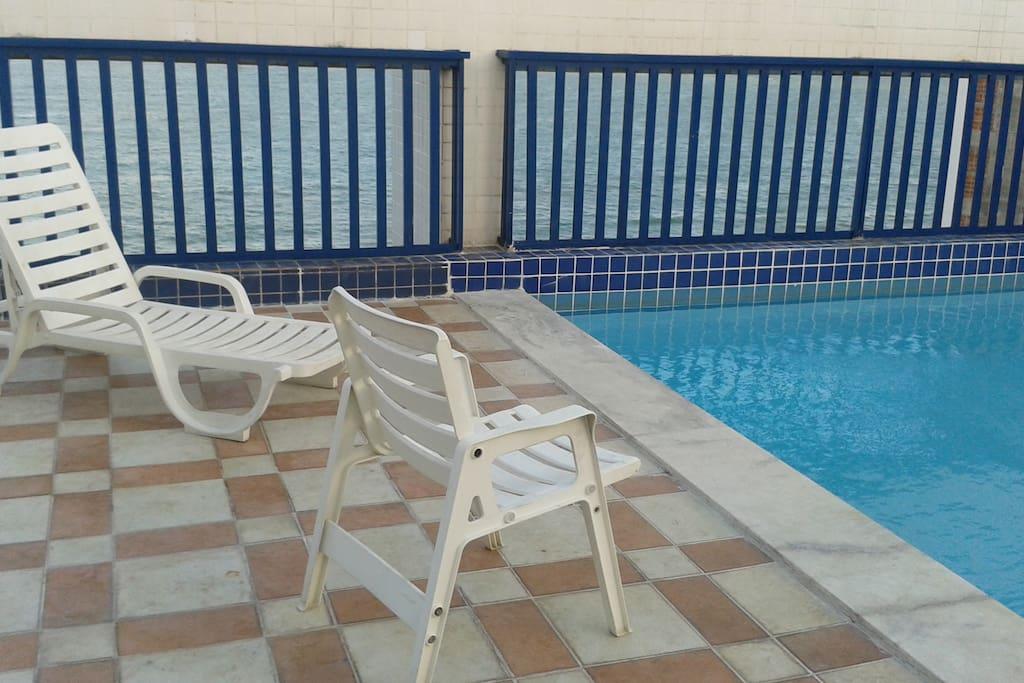 Cobertura - área da piscina