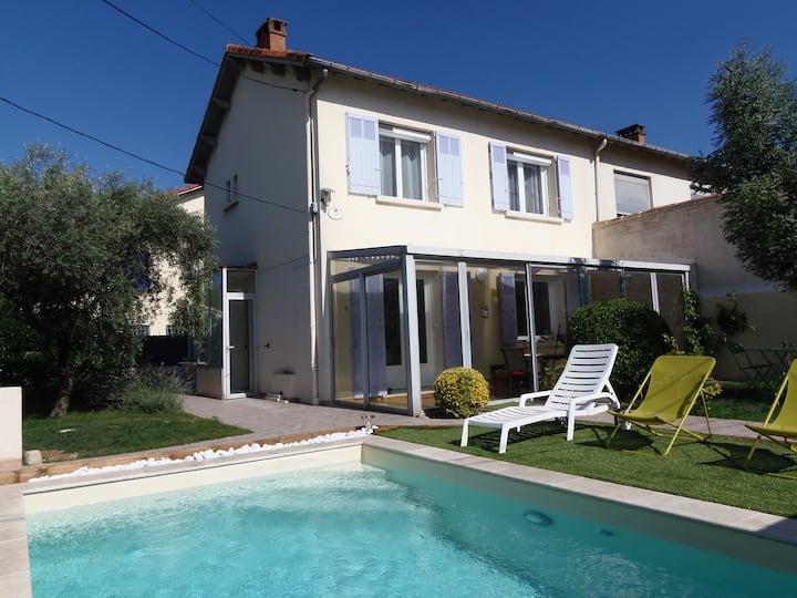 Maison de Ville avec Jardin et Piscine - Avignon