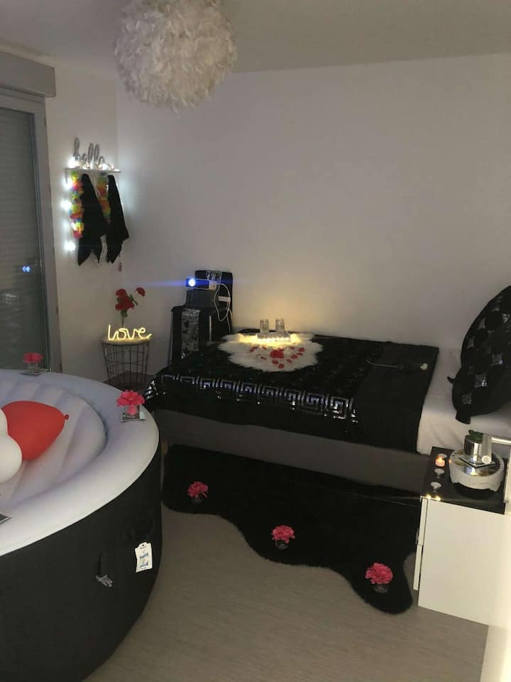 Appart Jacuzzi 4pers courcouronne