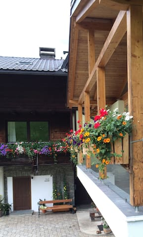 Apartman a sípálya, hegyre néző kilátással