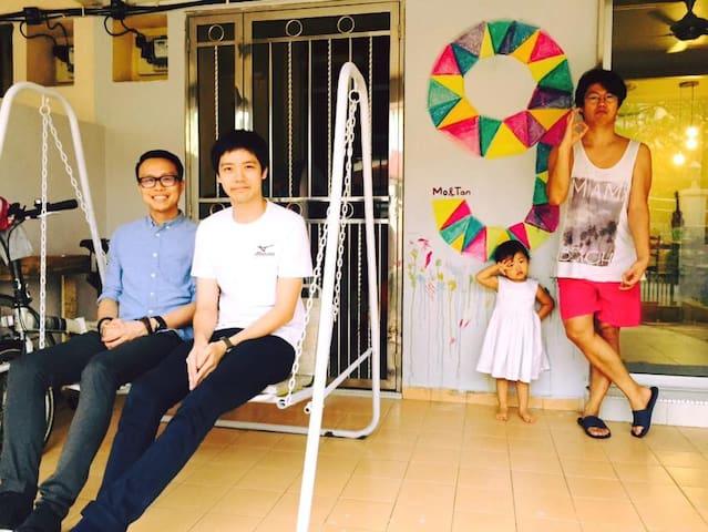 Mo & Tan Unique House, near Desa Parkcity - Kuala Lumpur - Ev