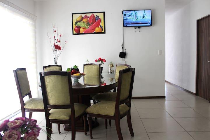 Apartamento Nuevo y Acogedor 3 recamaras excelente