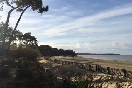 Maison front de mer avec accès direct à la plage