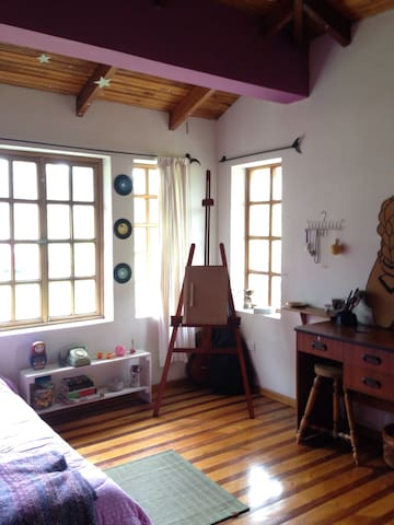 Charming colourful room. - Otavalo