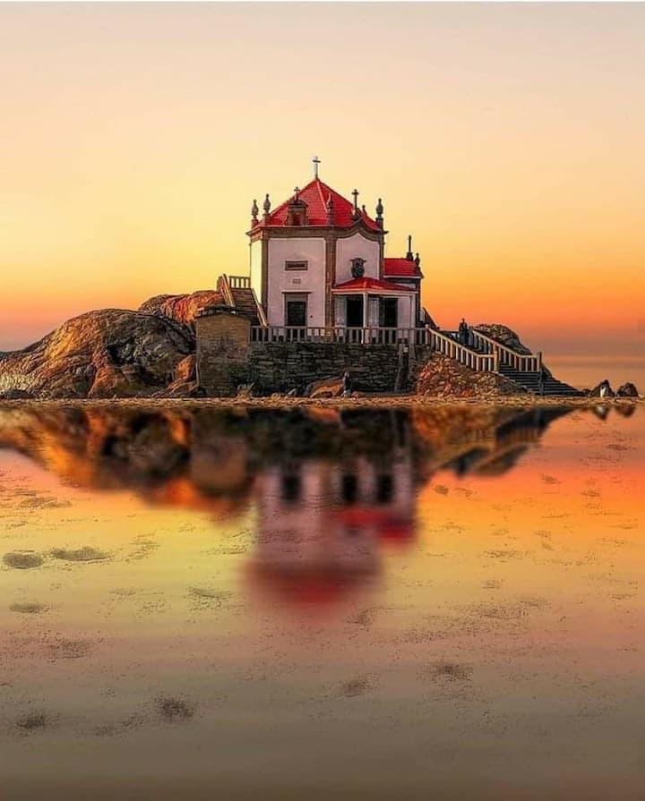 CASA FAMILIAR  para férias entre Porto e Espinho