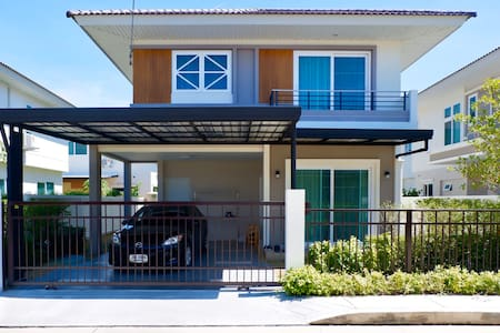 Happy house from Nonthaburi include swimming pool