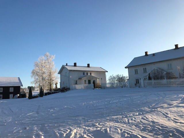 Kårhuset på Imerslund Østre, koselig på landet