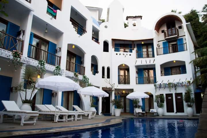 Zorba Duplex Suite at Baga River side