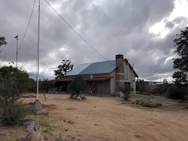 La cabaña del Cuervo