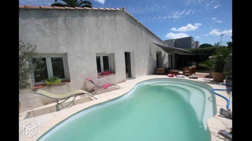 Villa à 5min de la plage - Pérols - House