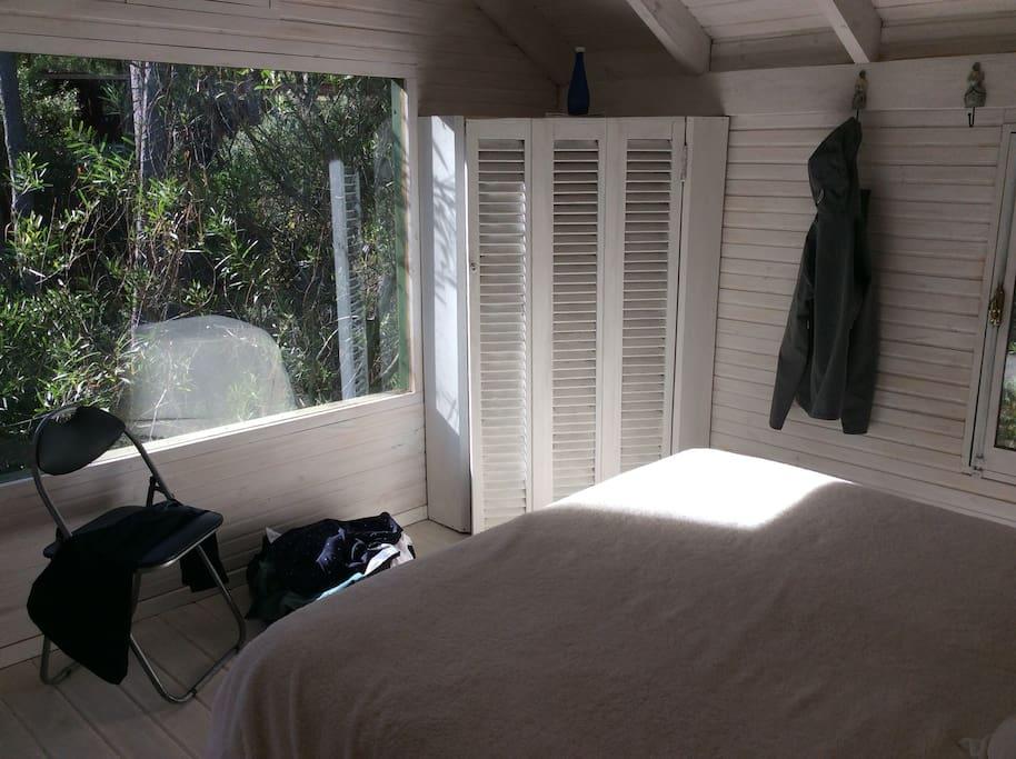 Es el dormitorio de planta alta