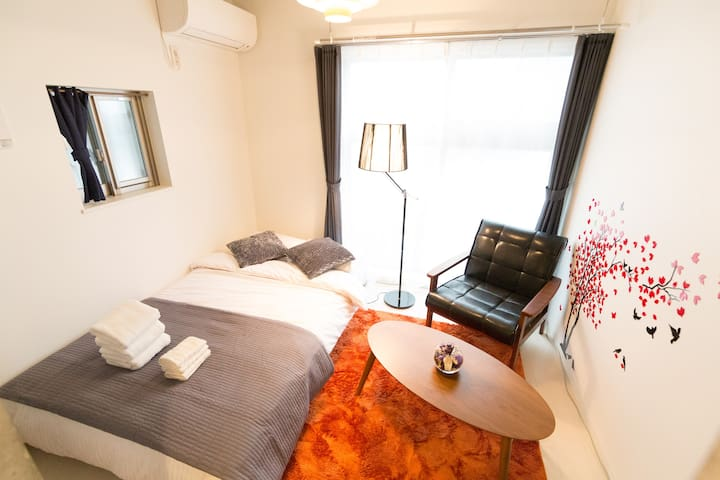 New!!4min Station-Near Shinjuku Luxuary house#102