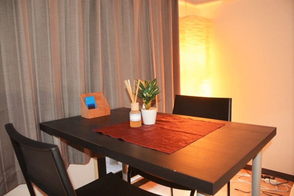 Table in the room