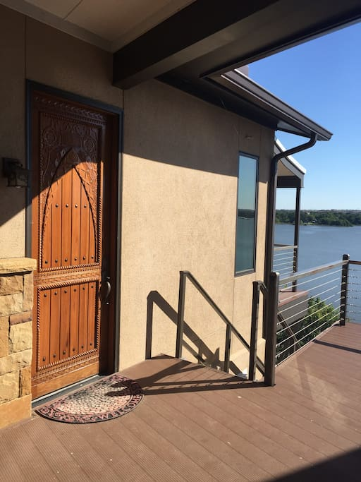 Secluded apt on the lake with incredible view for Apartments near texas motor speedway