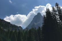 The Dolomiti view