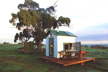 Secluded Tiny House on a beautiful sheep farm - Warncoort