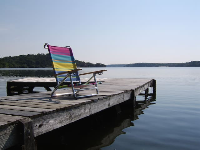 Elbe Lodge: Lakefront, Walk to Cape Cod Rail Trail - Brewster - Chalet